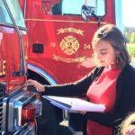 Firetruck blessing